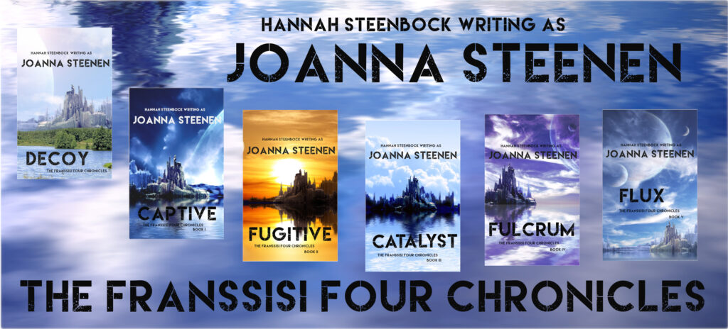 The Franssisi Four Chronicles SF Series Cover Banner
